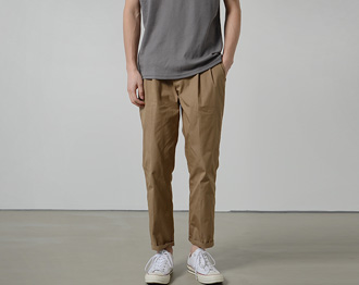 Wide Pintuck Pants