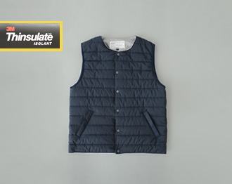 Thinsulate Snap Vest