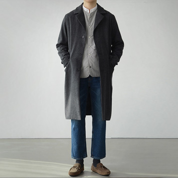 S/S Herringbone Coat